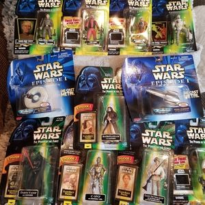Star Wars 11 Action Figures, 1 game & 2 die Casts